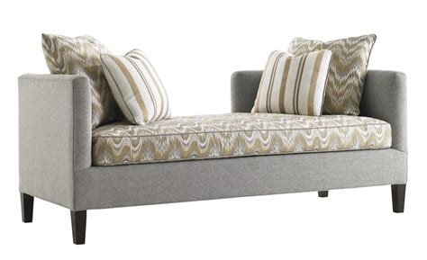 Contemporary Settee by Tower Place Contemporary Backless Sebastian