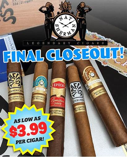 Boxes Closeout Nat Sherman Final Gift Milled