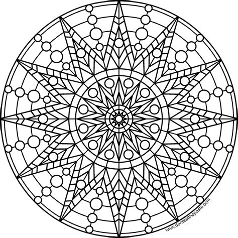 mandala to color don t eat the paste sun mandala to print and color