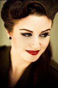 Rockabilly makeup | Rockabilly Hairstyles | Pinterest ...