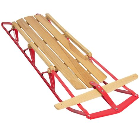 wood sles for sale wood snow sled scooter toboggan wooden sledge ski sliding snowboard outdoor