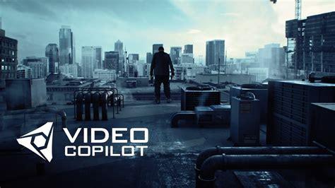 Video Copilot Show Superhero Landing Youtube