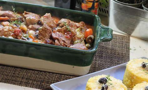 recettes de cuisine corse sauté de veau corse aux olives