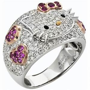 hello kitty wedding rings engagement rings hello kitty With hello kitty wedding ring set