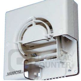 humidity controlled extractor fan manrose xf120ah 5 quot electronic humidity sensor auto