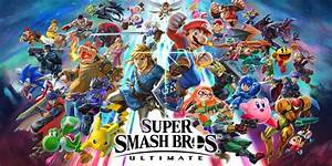 Super Smash Bros Ultimate Nintendo Switch Jogos