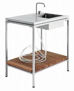 Evier D Exterieur Pour Jardin : evier pour cuisine d 39 ext rieur blanc viteo made in design ~ Premium-room.com Idées de Décoration