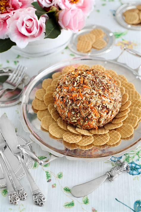 Carrot Cake Cheese Ball - Sprinkle Bakes | Recipe in 2021 ...