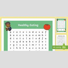 Healthy Eating Word Search  Healthy Eating, Healthy Living, Healthy Eating