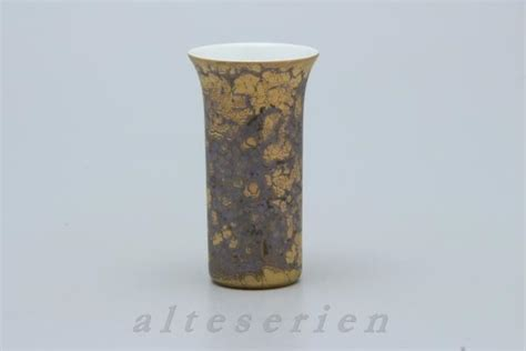 Vasen Rosenthal Vase Mini D 4,7 Cm H 8,8 Cm Marmorlook