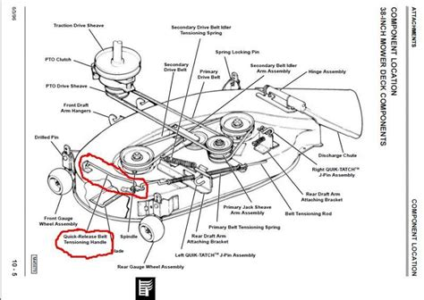 Deere Lx176 Deck Diagram by Lawn Mower Forums Lawnmower Reviews Repair Pricing And