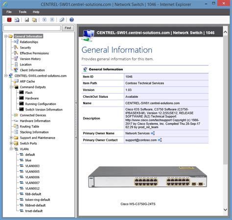 network switch documentation tool audit software