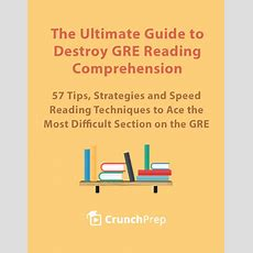 Gre Resources Free Gre Guides And Ebooks  Crunchprep Gre
