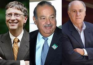 List of the 20 Richest People in the World in 2015