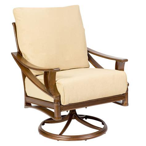 arkadia cushion swivel rocking lounge chair woodard