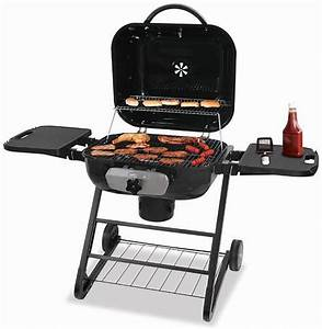 Large Deluxe Outdoor Charcoal Barbecue Grill CBC1255SP
