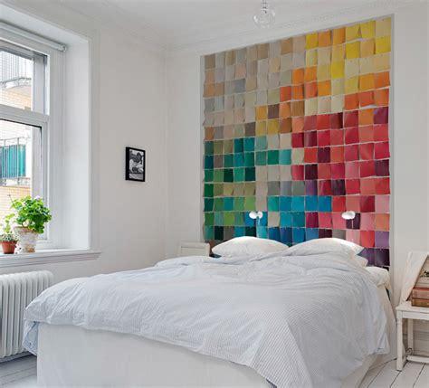 tapisserie originale chambre papiers peints de marques inspiration décoration