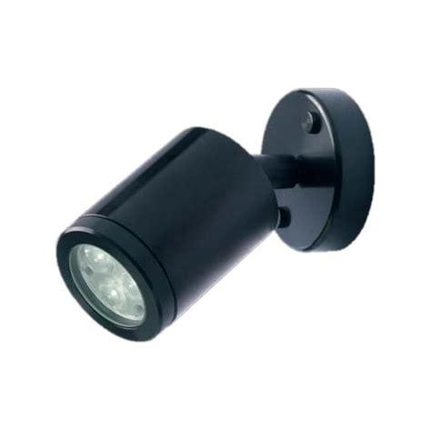 collingwood lighting wl020a black led wall light