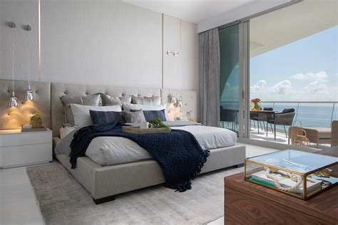 Vacation Home Decor: Master Bedroom Decor For A Nautical Miami Vacation Home