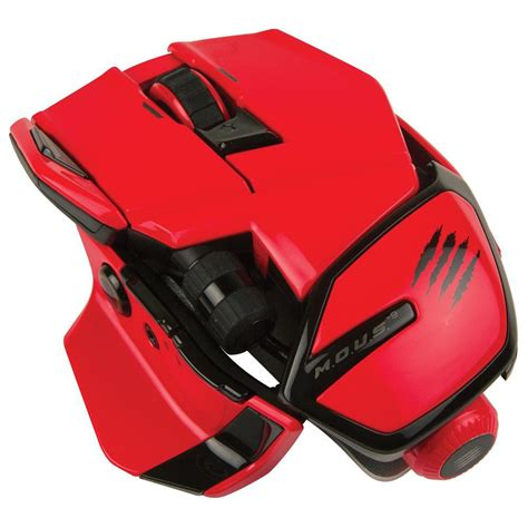 Saitek Mad Catz Cyborg Mous 9 Wireless Gaming Mouse Red