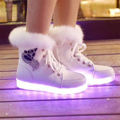 light up boots for girls 10 led shoes that light up at the bottom and change colors