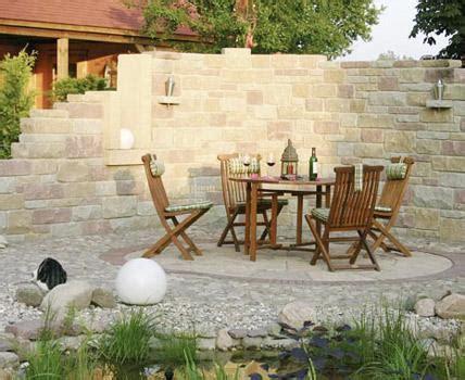 Steine Für Mauer Im Garten by Sichtschutz Im Vergleich Holz Stein Oder Hecke Mauern