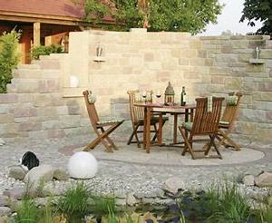 garten ruine bild 8 living at home With französischer balkon mit sichtschutzmauern im garten