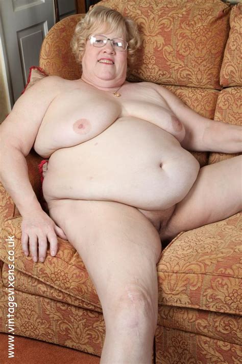 archive of old women fat granny naked on the couch set 1