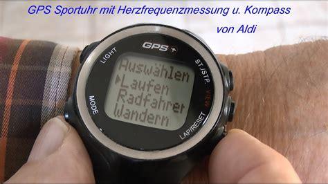 fitnessuhr mit gps test gps uhr mit herzfrequenzmessung und kompass aldi 2014 tubehorst1