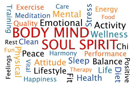 A Healthy Mind Is Key To A Healthy Body Doctors' Notes