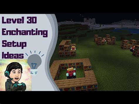 Level 30 is the highest level enchant you can get in the game. Level 30 Enchanting Setups in Minecraft   Setup Ideas ...