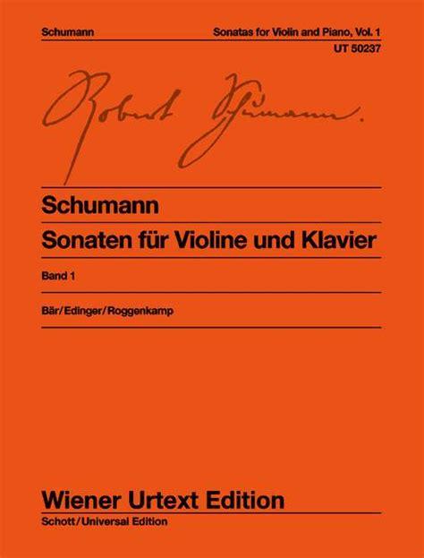0014008122 sonaten fuer klavier band sonaten f 252 r violine und klavier op 105 op 121 band 1