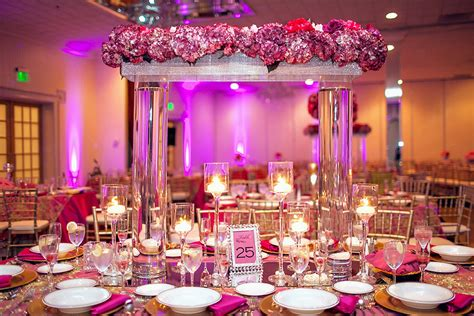 fuschia wedding decoration ideas mini bridal