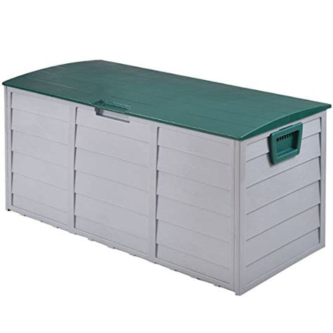 Deck Storage Box Outdoor Patio Garage Shed Tool Bench