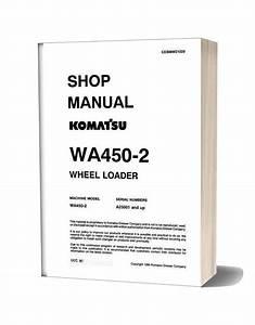 Komatsu Wheel Loaders Wa450 2 Shop Manual