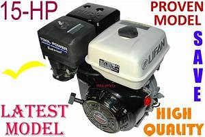 Engine 15 Hp  Lifan Petrol Driven Engines  Tool Power