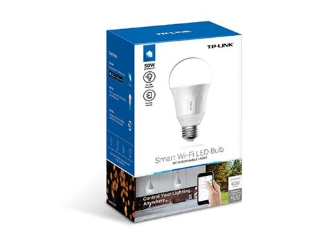 lb100 smart wi fi led bulb with dimmable light tp link