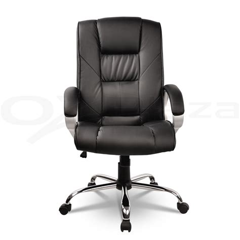 new executive premium pu faux leather office computer