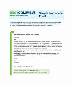 email templates 10 free word pdf documents download With business promotion email template