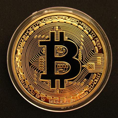money to bitcoin 1 pc plated bitcoin coin collectible physical btc gold