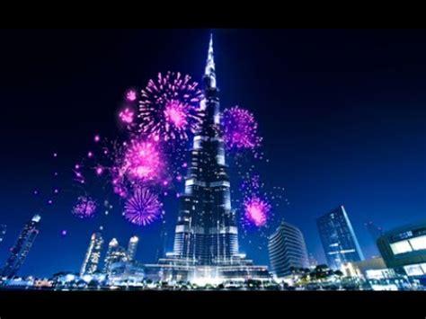 dubai burj khalifa  night awesome view youtube
