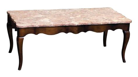 french provincial coffee table and end tables french provincial coffee table with rose marble top olde
