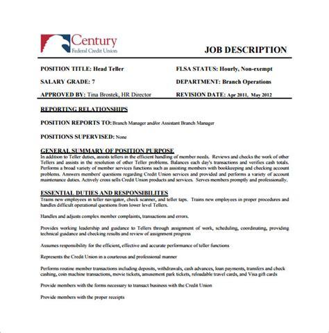 Detailed Description Template by Detailed Description Template 1 Sle Employee