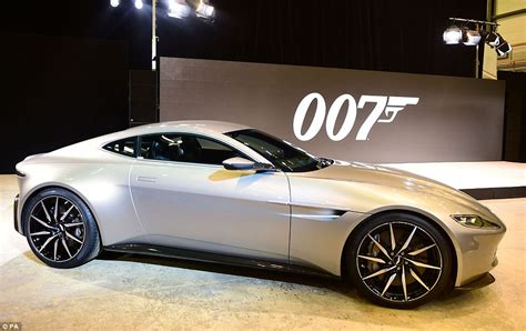 James Bond's New Aston Martin Unveiled Built Exclusively