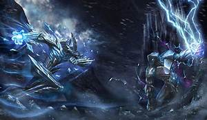 Ice-and-Thunder-Elemental by Bladdneart on DeviantArt