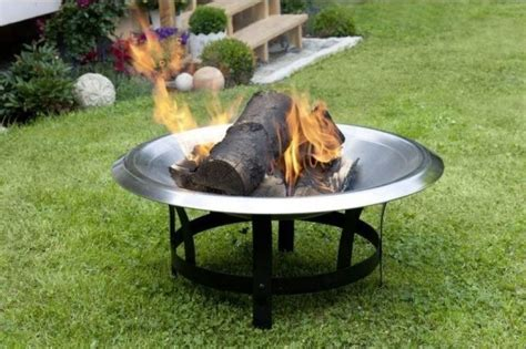 Feuerschale Mobiles Lagerfeuer Fuer Die Terrasse by Feuer Im Garten Feuerschalen Und Co