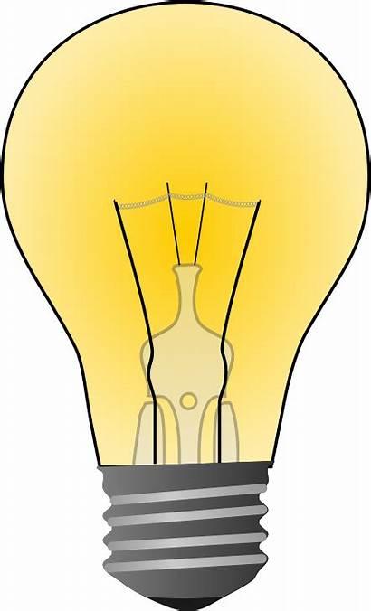 Clipart Bulb Clip Domain Clipartion Lightbulb