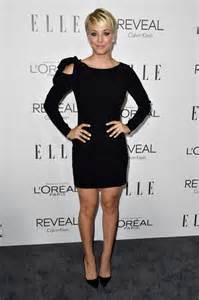 Kaley Cuoco Short Dresses