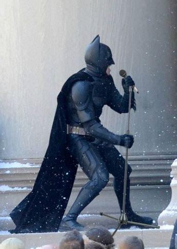 dumbledore shot  musical monday batman sings