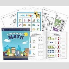 Printable Kindergarten Math Student Workbook Part 1 Myteachingstationcom